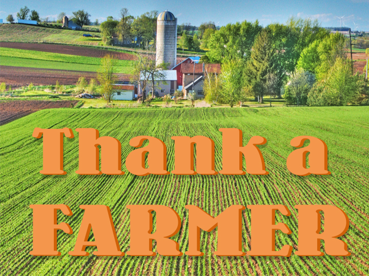 Thank a farmer for your Thanksgiving